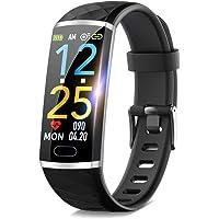 【2020進化版】 スマートウォッチ itDEAL 活動量計 心拍計 歩数計 smart watch スマートブレスレット…