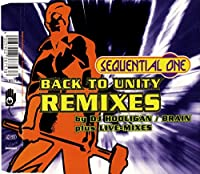 Back to unity-Remixes [Single-CD]