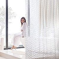 シャワーカーテン Aistuo おしゃれ 間仕切りカーテン 120×180cm 厚く 抗菌 速乾 シンプル シャワーカー…