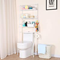 トイレラック スリム 3段式 トイレ収納 オープンラック トイレ用品 – dura-dry タオル トイレットペーパー…