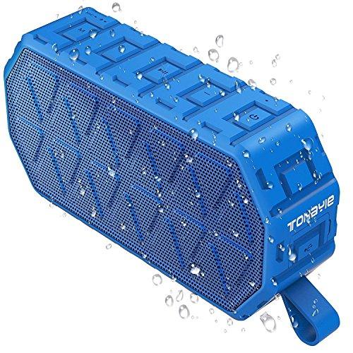 [해외]ToHayie Bluetooth 스피커 블루투스 4.2 스피커 무선 스테레오 스피커 6W 저음 강화 야외 IPX6 방수 스피커 스마트 폰 태블릿 등 지원 내장 마이크 탑재 18 개월 동안 안심 보장 블루/ToHayie Bluetooth speaker Bluetooth 4.2 Speaker Wireless ste...