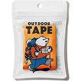 ヤマト 万能 布テープ アウトドアテープ 50mm×3m ネオンオレンジ OD-NOR