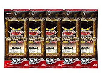 遊戯王アーク・ファイブ OCG EXバリュー THE GOLD BOX + ABYR&CBLZ  帯留め 5パック
