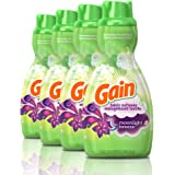Gain Liquid Fabric Conditioner (Fabric Softener), Moonlight Breeze, 41 Oz Bottles, 4 Pack, 192 Loads Total