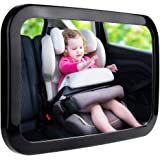 Zacro Baby Car Mirror, Shatter-Proof Acrylic Baby Mirror for Car, Rearview Baby Mirror-Easily to Observe The Baby's Every Mov