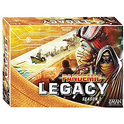 Fantasy Flight Games Board Game Pandemic Legacy Season 2 Yellow Edition