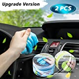 2 PCS Magic Gel for Car Interior Cleaner Detailing Tools Keyboard Cleaner Detail Removal Cleaning Putty Universal Dust Cleane