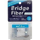 FD(エフディ) ブリッジ ハードファイバー クリア 1.6mm 透明 120個 (x 1)