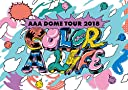 AAA DOME TOUR 2018 COLOR A LIFE(DVD2枚組 グッズ)(初回生産限定盤)