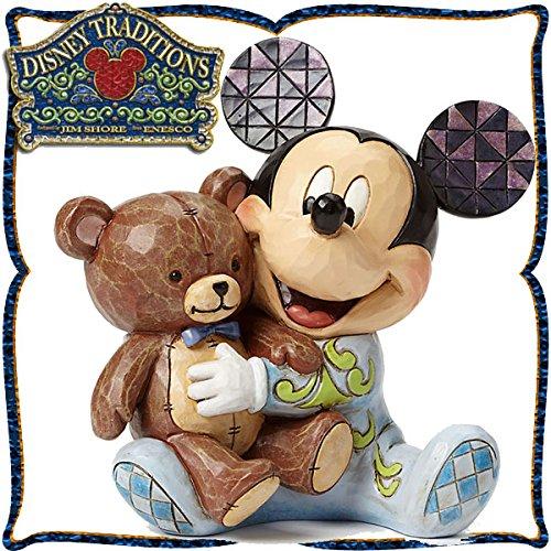 디즈니 목각조 피규어 베이비 미키 (미키마우스) 디즈니・tradition