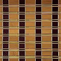 ZEMIN 日焼け止め ウッドブラインド 竹 ローラーブラインド ロールシャッター ヴェネツィア シェーディング 内装/外装 カスタマイズ可能な 消毒 ハンドリフティング、 3色あり、 竹 (色 : C, サイズ さいず : 90x200CM)
