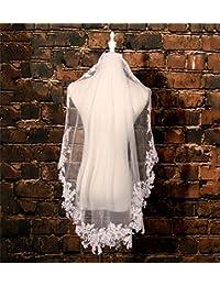 シュウクラブ- 結婚式のベール韓国の短い糸の糸の糸の結婚式の結婚式のベール