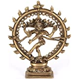 ITOS365 Dancing God Shiva Natraj Statue Idol Murti Home Décor Gift 6.5 inches