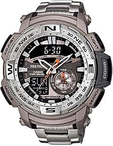 [カシオ]CASIO 腕時計 PROTREK ツインセンサー搭載 PRG-280D-7JF メンズ