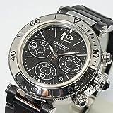 [カルティエ] Cartier 腕時計 パシャ シータイマーXL クロノグラフ W31088U2 メンズ 中古