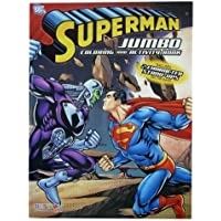 Superman Coloring Book - Superman Jumbo Coloring And Activity Book (1 Book) by DC [並行輸入品]