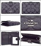 [コーチ] COACH 財布 (二つ折り財布) F23553 シグネチャー 二つ折り財布 レディース [アウトレット品] [並行輸入品] (ブラックスモーク×ブラック)