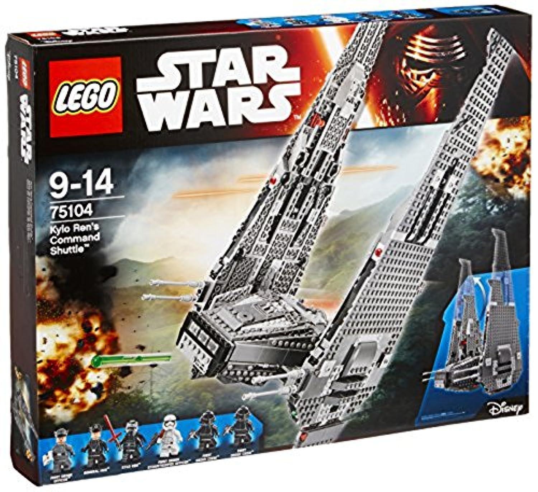レゴ (LEGO)  スター?ウォーズ カイロ?レンのコマンドーシャトル[TM] 75104