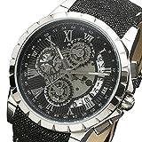 サルバトーレマーラ クロノ クオーツ メンズ 腕時計 SM13119D-SSBKBK ブラック