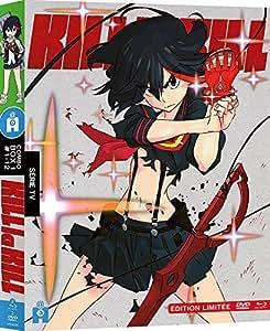 キルラキル 4枚組 [Blu-ray + DVD] 1-12話 限定版 KILL la KILL [Blu-ray] [DVD] [Import]