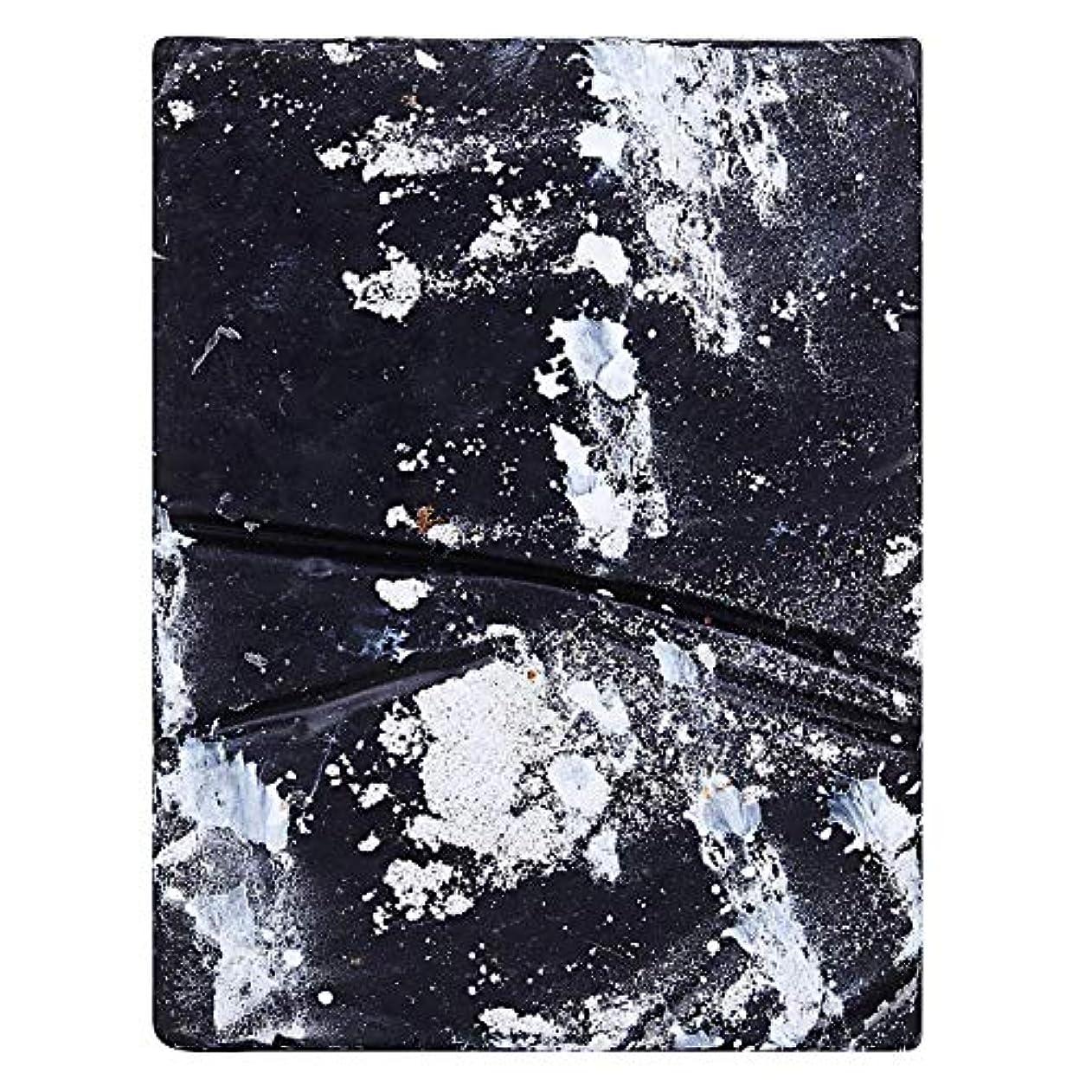 道徳素朴な構造的SVATV Handmade Luxury Butter Soap Charcoal Musk & Rosemary For All Skin types 100g Bar