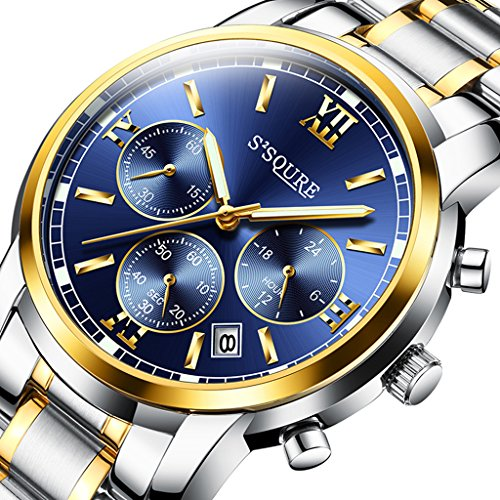 GuTe出品 腕時計 クォーツ メンズ ...