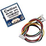 Geekstory Beitian BN-880 GPS Module U8 with Flash HMC5883 Compass + GPS Active Antenna Support GPS Glonass Beidou Car Navigat