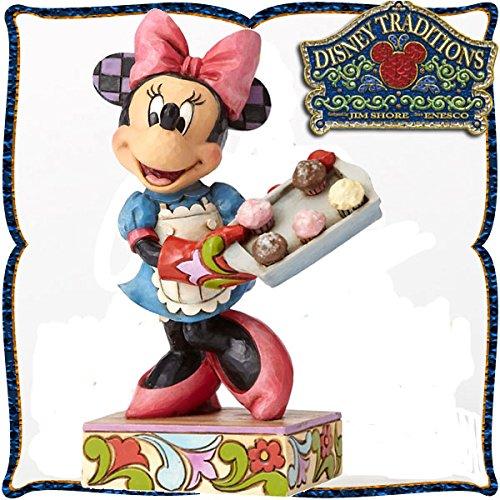 디즈니 목각조 피규어 미니 마우스 「파티시에 미니」 디즈니・tradition-