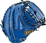 ZETT(ゼット) 野球 軟式 キャッチャーミット デュアルキャッチ 右投用 ブルー(2300) LH BRCB34812