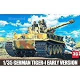 Academy model 13239 World War II the United States and Germany in the early-type full configuration Tiger [並行輸入品]