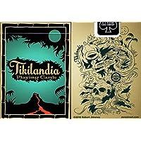 ゼロStreet Tikilandia Playing Cards PokerサイズデッキUSPCCカスタムLimited Edition