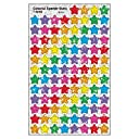 Trend Enterprises トレンド SuperShapes Stickers - Colorful Sparkle Stars 【教材 ごほうびシール】きらきら星シール (400枚入り) T-46405