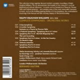 Vaughan Williams Complete Symphonies 画像