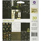 プリママーケティング用紙パッド、6インチ永久by 6インチ、グリーン、30-pack