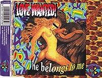 He belongs to me [Single-CD]