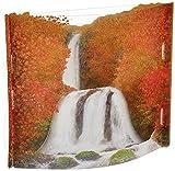 サンリオ 秋カード ポップアップ 透明素材 紅葉と滝 P4563