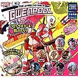 MARVEL GWENPOOL グウェンプール コミックスアート缶バッジ 全10種セット ガチャガチャ