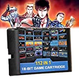 ちば れいこ(Boboque) 112 in 1 ゲームカード ゲームソフト for セガ ジェネシスゲーム カートリッジ 内蔵112ゲーム クラシック 人気 ゲーム MDモードで ゲームカセット