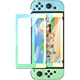 UGREEN Switch Screen Protector for Nintendo Switch Tempered Glass Screen Animal Crossing Color Border with Transparent HD Ant
