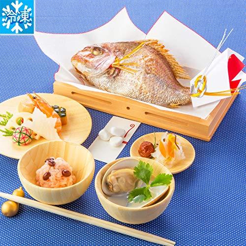 お食い初め料理セット ももかブルー(冷凍) ※お料理のみです。容器は付属いたしません(福石入れも付属致しません) 季膳味和/ときぜんみわ