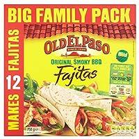 Old El Paso Fajitas Original Smoky BBQ Kit (750g) 古いエルパソのファヒータオリジナルスモーキーバーベキューキット( 750グラム)