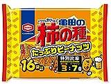 Amazoncojp限定亀田製菓 亀田の柿の種たっぷりピーナッツ16袋詰