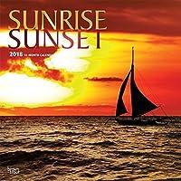Sunrise Sunset 2018 Wall Calendar [並行輸入品]
