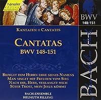 Bach Cantatas BVW 148-151