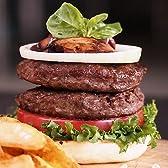 カンガルーハンバーガーパテ 4枚入り【無添加】 【販売元:The Meat Guy(ザ・ミートガイ)】