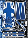 MOTOGRAFIX(モトグラフィックス) タンクパッド TRIUMPH Tiger Explorer1200 ブルー/ホワイト MT-TT019BA