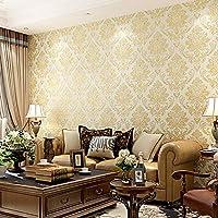 Wapel 不織布を角質ケアクロスに仕上げの壁紙背景 Ab 普通ベッドルームはリビングルームでは、 Edition ライトグリーン