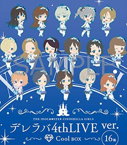 アイドルマスター シンデレラガールズ トレーディングラバーストラップ デレラバ4thLive ver CoolBOX ( 16種入り )