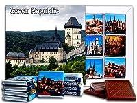DA CHOCOLATE キャンディスーベニア チェコ共和国 チョコレートギフトセット 13x13cm 1箱 (城)