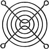 オウルテック 金属製ファンガード 8cm ブラック FANGuard-M8(B)/II